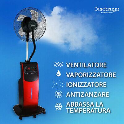 Ventilatore Digitale Acqua Wfd Dardaruga Con Nuovo Nebulizzatore Professionale 7
