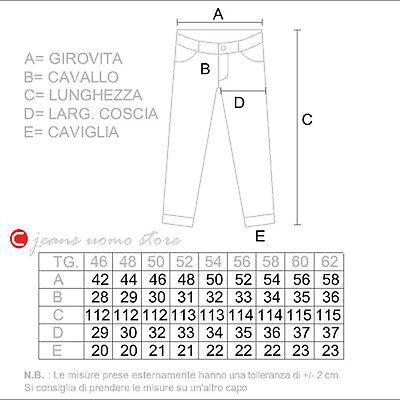 Pantalone 5 tasche cotone denim Carrera 700 jeans uomo Regular Fit Straight Legs 12