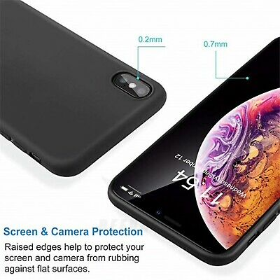 Matte Transparent Ultra-Thin Slim Case Cover Skin for iPhone X Xs/Max,11 Pro,8 2