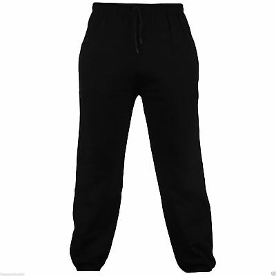 Men's Fleece Joggers Jogging Tracksuit Bottoms Elasticated Cuffed Trousers 2
