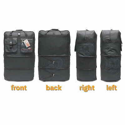 """40"""" Expandable Spinner Suitcase Luggage Wheeled Duffel Rolling Bag USA SELLER 4"""