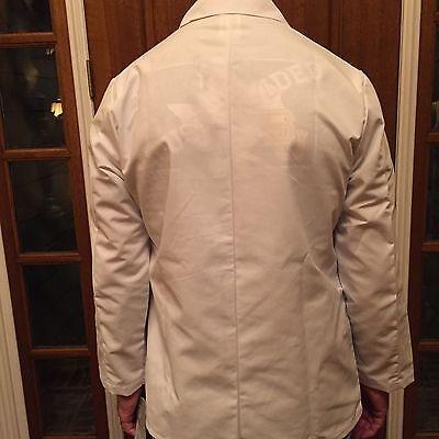 """Men's Meta White Consultation Jacket Poly/Cotton Length 29"""" for13.00 Sizes XS-XL"""