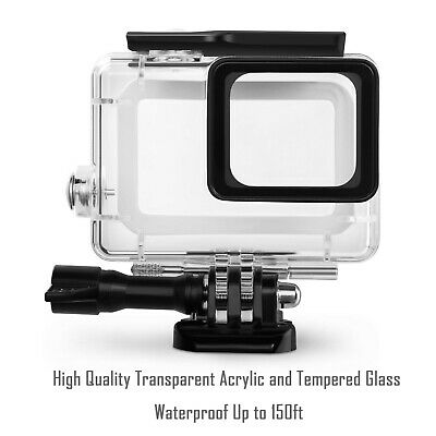 Waterproof Housing Case for GoPro Hero 7 Black 6 5 Protective Shell with Bracket 6