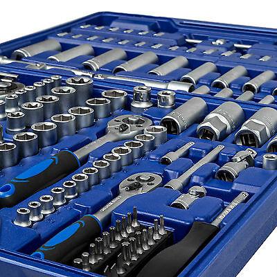 Coffret de clés à cliquets de 171 pièces boîte set jeu compact clés à douilles 2