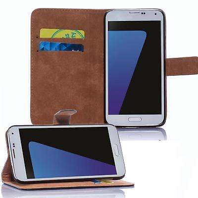 Handy Tasche für Samsung Galaxy Flip Cover Mobile Case Schutz Hülle Etui Wallet 2