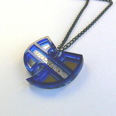 Wu Tang Clan Halskette Laser geschnitten gravierten Spiegel Kunststoff 4
