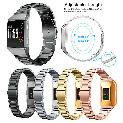 Stainless Steel Bracelet For Fitbit ionic Band Watch Metal Wrist Band Strap 2