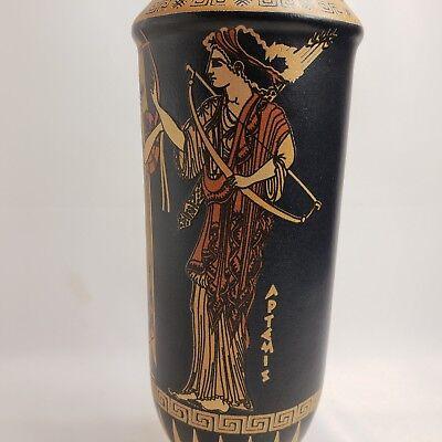 Goddess Aphrodite Artemis Apollo Ares Ancient Greek Art Pottery Vase Oinochoe 6