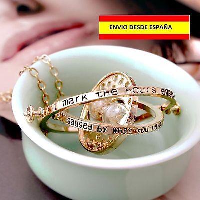 Collar Giratiempo Harry Potter Hermione Mágico Cadena Pendiente Colgante Unisex 2