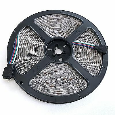 5050 RGB 5M 300 LEDS SMD LED Strip Light 12V Waterproof 24 KEY IR Controller 2