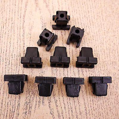 SET 10 10 PCS WINDSHIELD MOULDING CLIP FOR TOYOTA COROLLA KE70 KE75 TE72 TE71
