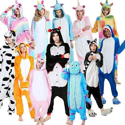 Pigiama intero costume animale kigurumi unisex carnevale Natale IT festa cosplay 4