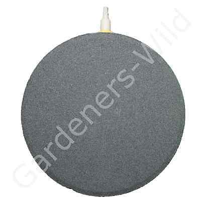 "AIR STONE 6"" 15cm (x6) HAILEA large round ceramic airstone hydroponic pond koi 3"