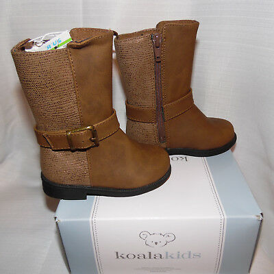 Koala Kids Toddler Girls  Black  Boots Size 4 or 5 or 6 Shoes NWT