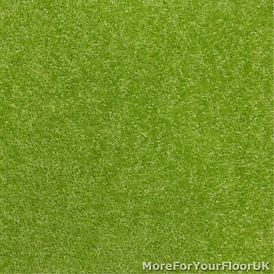 Lime Green Feltback Twist Bedroom Carpet, Cheap Roll 2