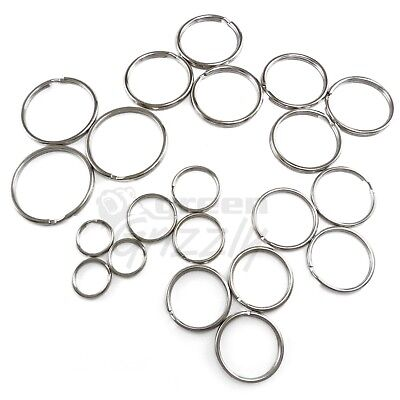 Split Rings Key Ring 15 20 24 25 30 32 35 mm - Pack Size 10 to 1000 keyring 2