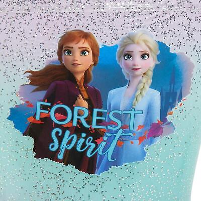 Disney Frozen 2 Girls Light Up Wellington Boots Elsa Anna Flashing Snow Wellies 3