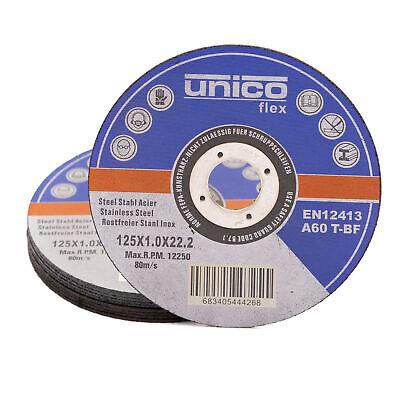 Trennscheiben 1mm Flexscheibe Inox Edelstahl Metall Extradünn 115 125 230 mm 6