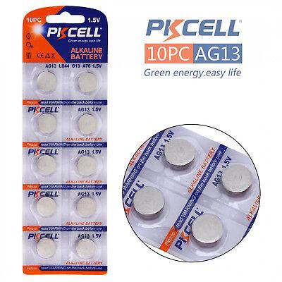 10X AG13 1.5v LR44 G13 LR44 A76 GP76A 357 Alkaline Button Coin Battery Sydney 3