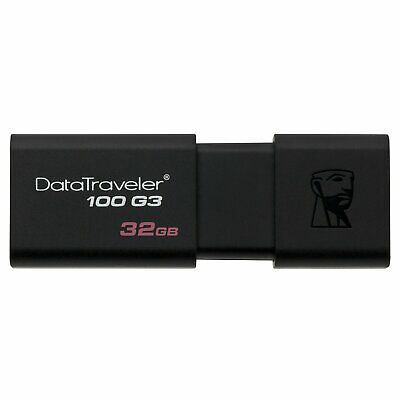 Clef usb 32go Kingston cle usb 32go DataTraveler 100 G3 USB 3.1 / USB 3.0 3