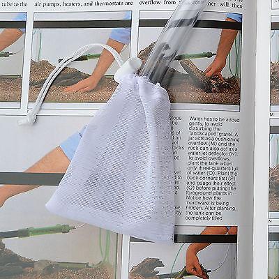 One Water Syphon Change Protector - Shrimp & Fish Net Bag Hose Filter  £2.50 F/p 3