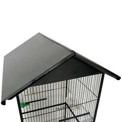 Voliera Gabbia per Uccelli Pappagalli Parrocchetti Gabbie Metallo Vari modelli 9