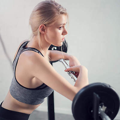 Support Repose Barre musculation pour haltères longs à disques. max env 100kg 3