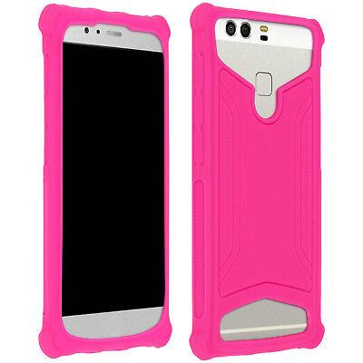 Universale Custodia Cover Per Smartphone 4.3 A 5.0 Pollici Gel Silicone Tpu