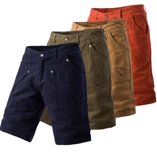 Mens Cargo Short Mini Pants Army Combat Long Trousers Camo Shorts Casual Workout 2
