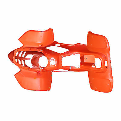 ATV Quad Body Plastic front rear fender fit Taotao only 110B 110cc RED SPIDER