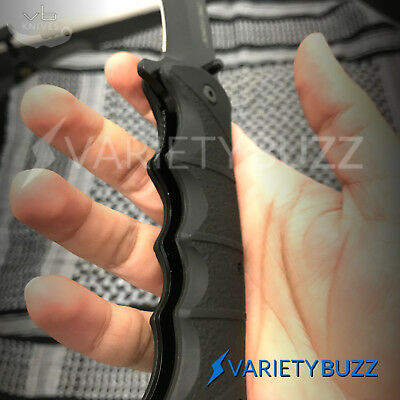 """9"""" TAC FORCE BLACK SPRING TACTICAL RESCUE Assisted Pocket Knife Folding Blade"""