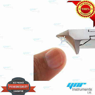 Toe Nail Clippers Cutter Nipper Thick Nails Diamond Deb Podiatry Pedicure Kit CE 2
