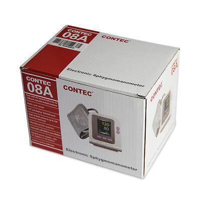 Digital automatic blood pressure monitor+4Cuffs spo2 probe FDA approved home use 3