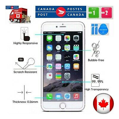 Tempered Glass Screen Protector for iPhone / Strong adhesive / Anti fingerprint 4