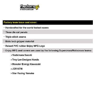 Enjoy MFG 2004-2012 CRF 100 All Black Full Gripper Seat Cover