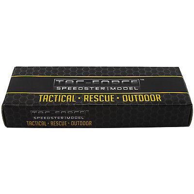 "7.75"" RED TAC FORCE KARAMBIT SPRING ASSISTED FOLDING TACTICAL POCKET KNIFE Open"