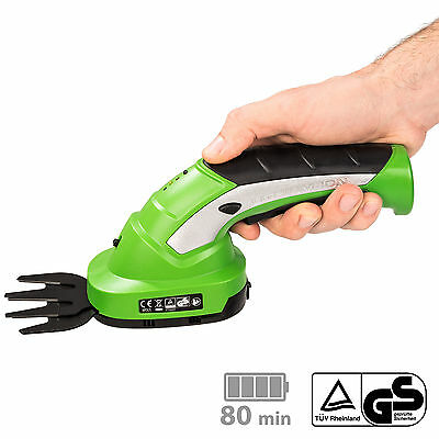 Cisaille a haie taille buissons haies jardin gazon 7,2V batterie lithium ion 7