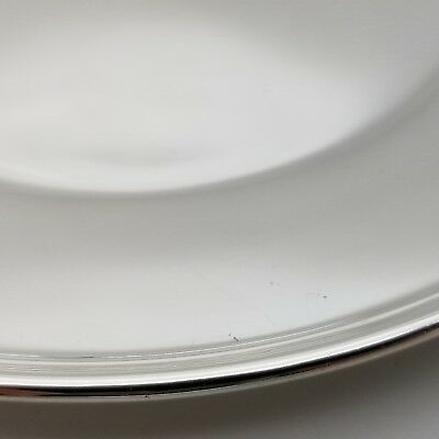 Tiffany & Co. Makers Sterling Silver ~6.5' In* Cookie Saucer Bread Charger Plate 4