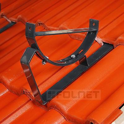 Dachtritt Steigtritt 60 cm f/ür Dachziegel und Biberschwanzziegel zum Einh/ängen Schwarz