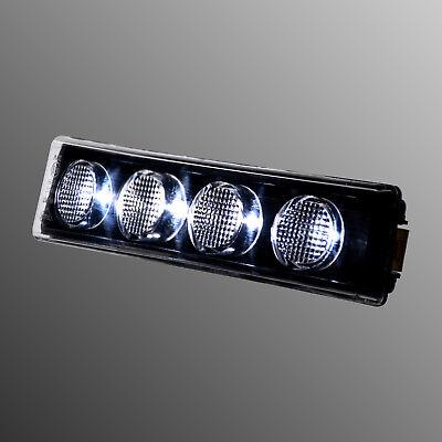 10 x 6 LED Begrenzungsleuchte 24V Positionsleuchte WEIß für Skania Man Daf PKW
