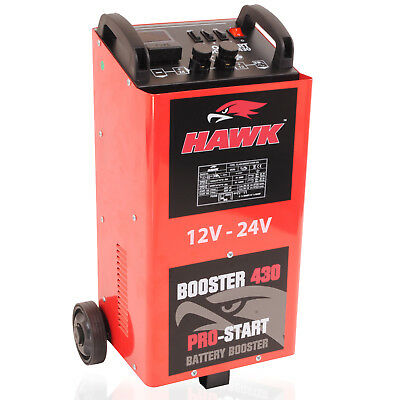 2000W 12V 24V 400a AMP CAR VAN 4X4 BATTERY CHARGER GARAGE JUMP START STARTER KIT 8
