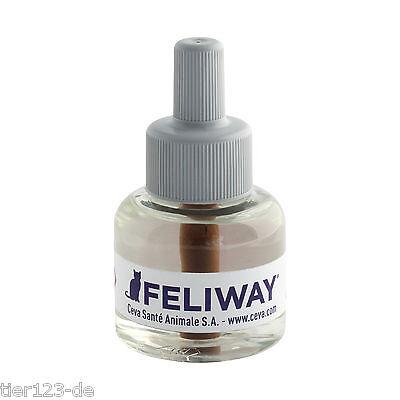 10 x Feliway Happy Home Nachfüll-Flacon Refiller a 48ml  (480ml) /100ml=34,15€ 2