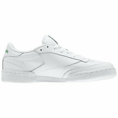 ec69fc7eed8 ... Reebok Club C 85 AR0456 White Green Leather Casual Men Shoes Fast  Shipping 3