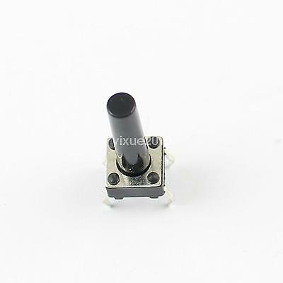 50PCS 12mm×12mm×4.3mm Tact Tactile Push Button Switch DIP-4Pin NEW