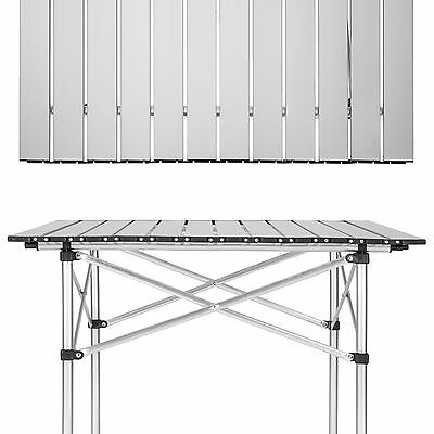 Aluminium Campingtisch Rolltisch Klapptisch Falttisch Gartentisch klappbar 3