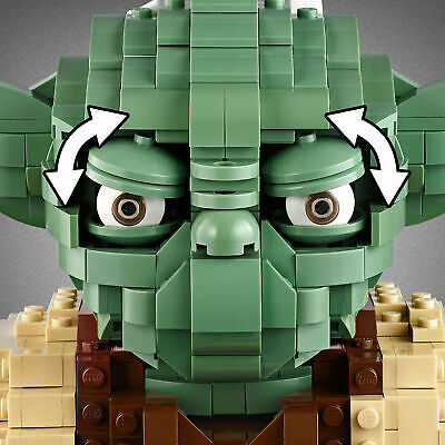 75255 LEGO Star Wars Yoda Figure Collectable Set 1771 Pieces Age 10+ 5
