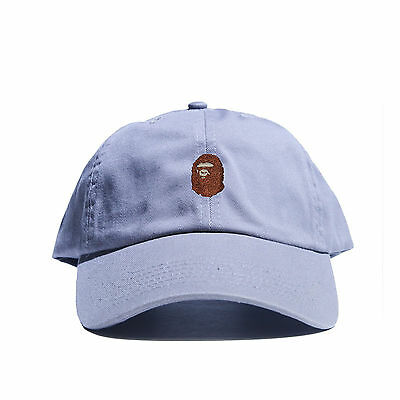 7d06c393b0c ... Embroidered Dad Hat (BATHING APE HEAD supreme AAPE unsturctured ALL  COLOR 10