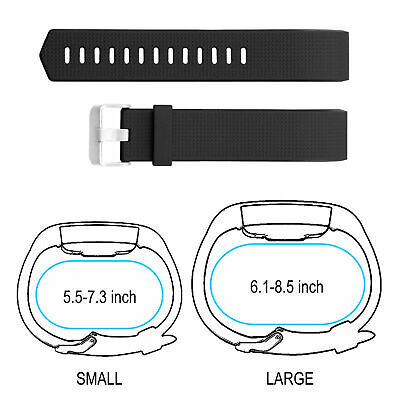 FOR Fitbit CHARGE 2 Replacement Silicone Rubber Band Strap Wristband Canada 3