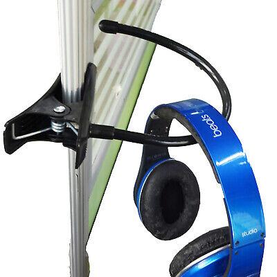 under desk headphone mount hanger Universal Gaming DJ Gamer Headphone Stand Rack 3