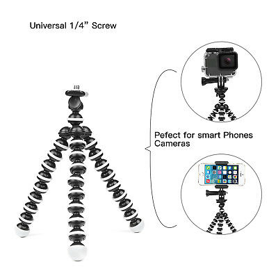 Octopus Flexible Tripod Stand Gorillapod Holder for GoPro 6 5 Canon Nikon DSLRs 7
